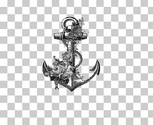 Drawing Flower Anchor Floral Design Art PNG