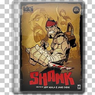 Shank 2 Xbox 360 Video Game PlayStation 3 PNG