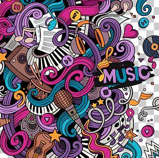 Doodle Drawing Cartoon Illustration PNG