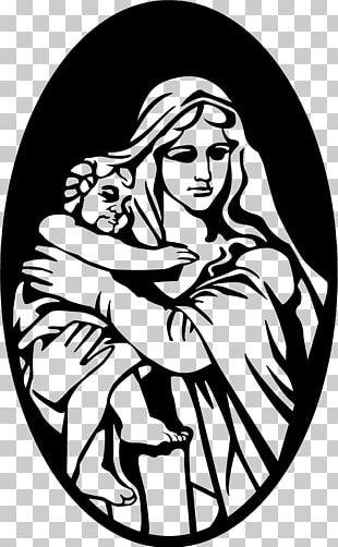 Mary Bethlehem Child Jesus Nativity Scene PNG