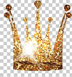Crown Gold Queen Regnant PNG