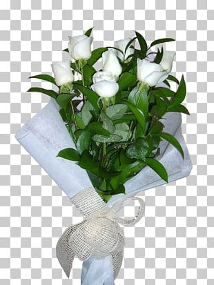 Rose White Cut Flowers Yellow Flower Bouquet PNG