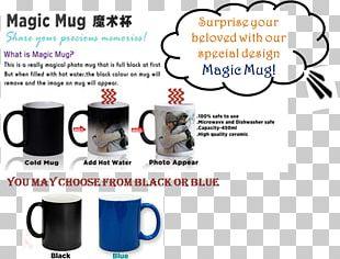 Coffee Cup Magic Mug Promotional Merchandise PNG