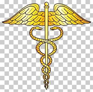 Staff Of Hermes Health Care Caduceus As A Symbol Of Medicine PNG