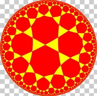 Tessellation Hyperbolic Geometry Uniform Tilings In Hyperbolic Plane Euclidean Tilings By Convex Regular Polygons Symmetry PNG