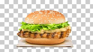 Burger King Grilled Chicken Sandwiches Hamburger Singapore Rendang PNG