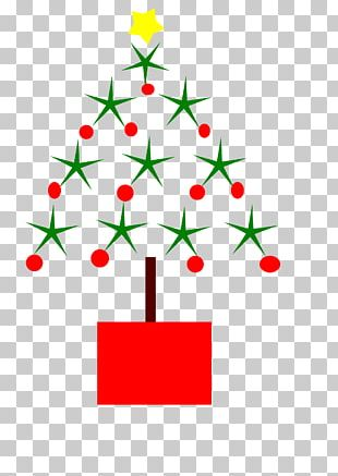 Candy Cane Christmas Tree PNG
