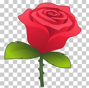 Emoji Sticker Emoticon Text Messaging Rose PNG