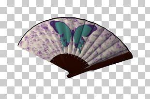 Purple Fan PNG