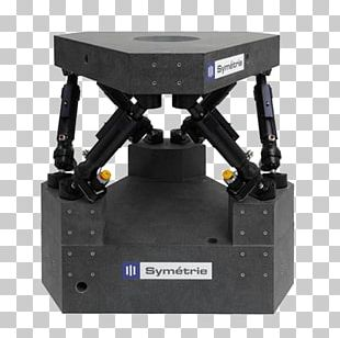 Parallel Manipulator System Six Degrees Of Freedom Positioning Bertikal PNG
