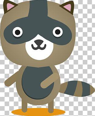 Raccoon Dog Cartoon Weasel Canidae PNG