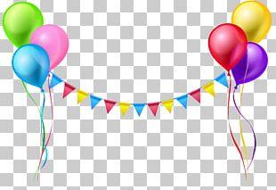 Balloon Serpentine Streamer PNG
