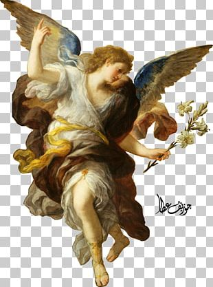 Annunciation Oil Painting Artist PNG