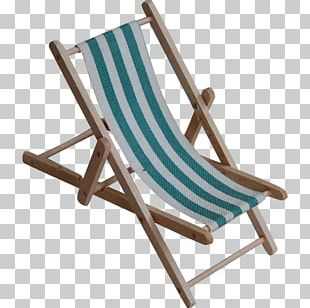 Deckchair Garden Furniture Chaise Longue PNG