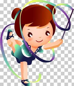Ribbon Rhythmic Gymnastics Stock Photography Sport PNG