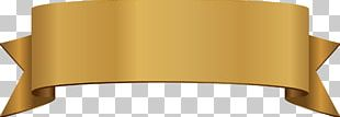 Ribbon Euclidean Gold PNG