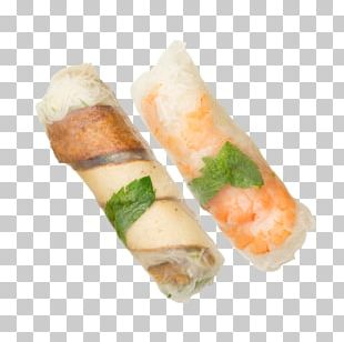 California Roll Spring Roll Pho Vietnamese Cuisine Rice Paper PNG