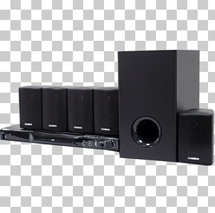 Home Theater Systems Audio Loudspeaker Subwoofer Cinema PNG