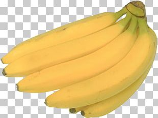 Saba Banana Fruit Vegetable Vegetarian Cuisine PNG