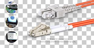 Network Cables Electrical Connector Electrical Cable Multi-mode Optical Fiber PNG