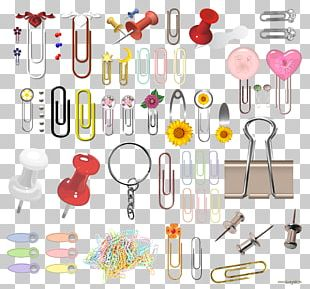 Paper Clip Stationery PNG