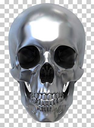 Human Skull Symbolism Metal PNG