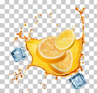 Orange Juice Iced Tea Lemon PNG
