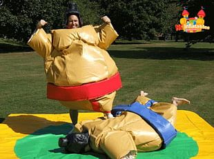 Sumo Wrestling Inflatable Suit Sport PNG