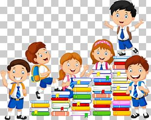 Book Child Reading Illustration PNG