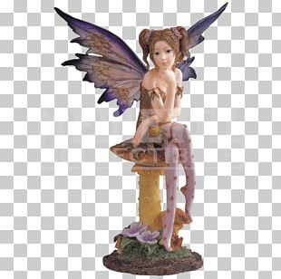 Fairy Figurine Statue Pixie Fantasy PNG