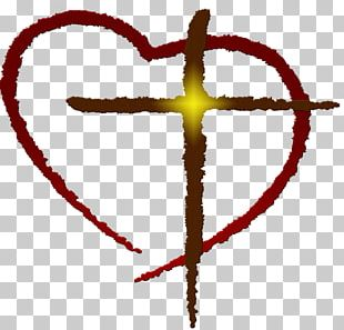Heart Christian Cross Free Content PNG