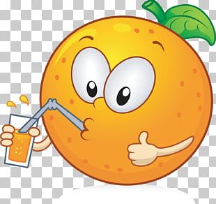 Orange Fruit Cartoon PNG
