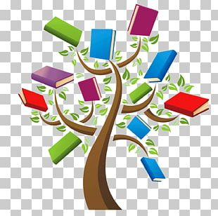 Book Library Reading Tree PNG