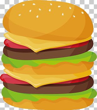 Hamburger Cheeseburger McDonald's Big Mac Veggie Burger Fast Food PNG
