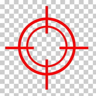Telescopic Sight Reticle PNG