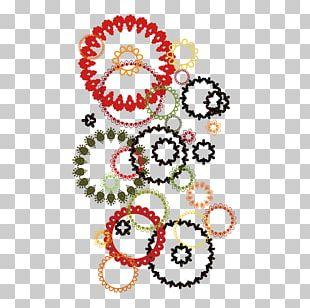 Floral Design Textile Pattern PNG