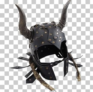 Horned Helmet Components Of Medieval Armour Body Armor PNG