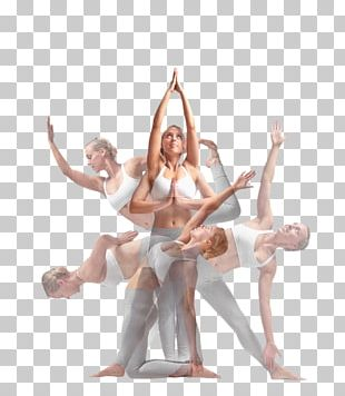 Yoga Dance Multiple Exposure Photography PNG