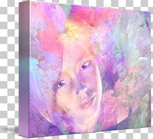 Modern Art Watercolor Painting Acrylic Paint Frames Portrait PNG