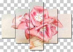 Petal Flower Floral Design Painting PNG
