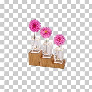 Floral Design Cut Flowers Flowerpot Pink M PNG