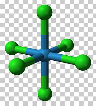 Tungsten Hexafluoride Tungsten Hexachloride Ball-and-stick Model Gas PNG