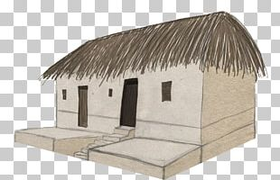 Hut House Roof Facade PNG