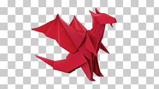 Origami Dragon PNG