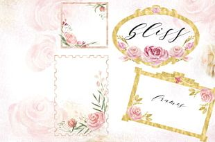 Wedding Invitation Watercolor Painting Flower Drawing PNG