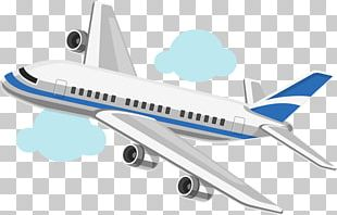 Airplane Aircraft Cartoon Drawing PNG