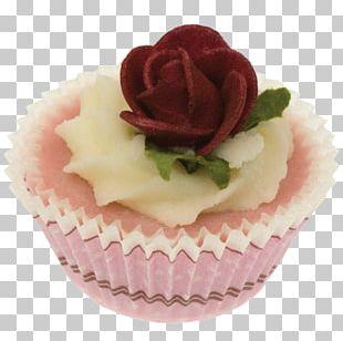 Buttercream Cupcake Petit Four Muffin PNG