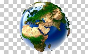 Earth World Map Globe Geography PNG