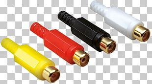 Electrical Cable Electrical Connector RCA Connector Electronic Component Personal Computer PNG