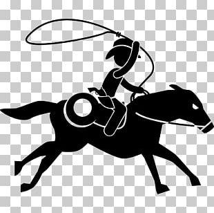 Horse Equestrian Pictogram Stick Figure PNG